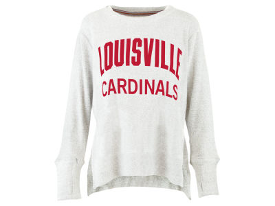 Louisville Cardinals Pressbox NCAA Women's Cuddle Knit Sweatshirt