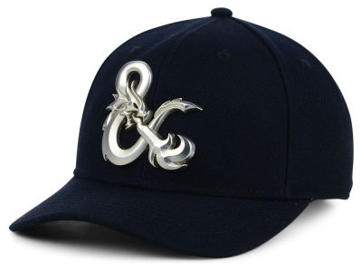 Dungeons & Dragons Ampersand Black Acrylic Wool Snapback Cap