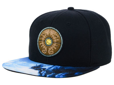 Zelda Botw Shield Sub Bill Snapback Cap