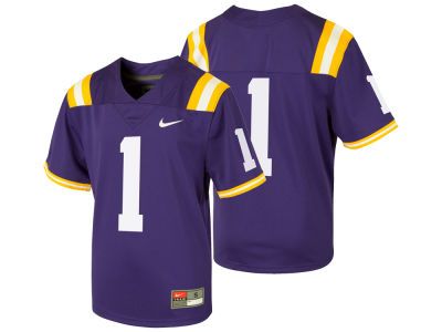 LSU Tigers Nike NCAA Toddler Replica Football Game Jersey