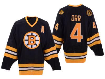 Boston Bruins Bobby Orr Mitchell   Ness NHL Men s Heroes of Hockey Classic  Jersey b5fe0ea1d
