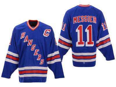 New York Rangers Mark Messier Mitchell & Ness NHL Men's Heroes of Hockey Classic Jersey