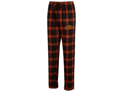 Oklahoma State Cowboys Concept Sports NCAA Men's Homestretch Flannel Pajama Pant