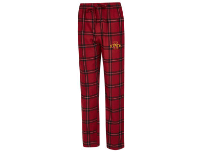 Iowa State Cyclones Concept Sports NCAA Men's Homestretch Flannel Pajama Pant