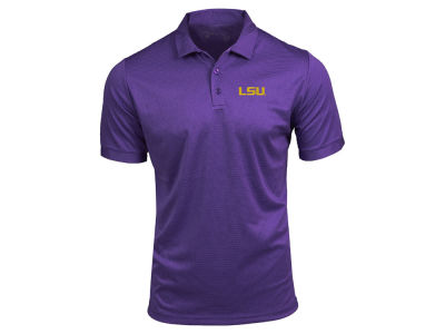LSU Tigers Antigua NCAA Men's Clutch Polo