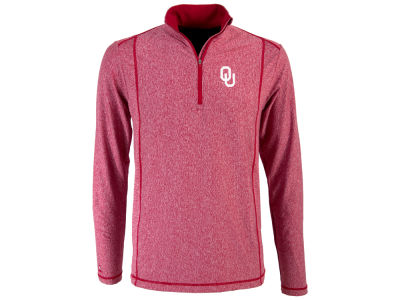 Oklahoma Sooners Antigua NCAA Men's Tempo Quarter Zip Pullover