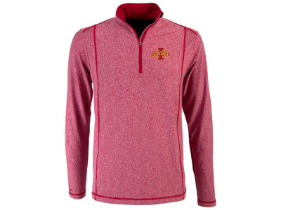Iowa State Cyclones Antigua NCAA Men's Tempo Quarter Zip Pullover