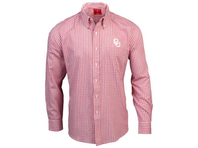 Oklahoma Sooners Antigua NCAA Men's Rank Button Up Shirt