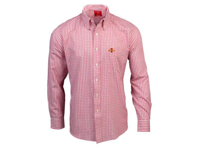 Iowa State Cyclones Antigua NCAA Men's Rank Button Up Shirt