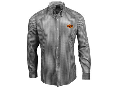 Oklahoma State Cowboys Antigua NCAA Men's Rank Button Up Shirt