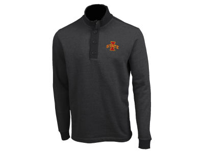 Iowa State Cyclones Antigua NCAA Men's Pivital Quarter Button Pullover