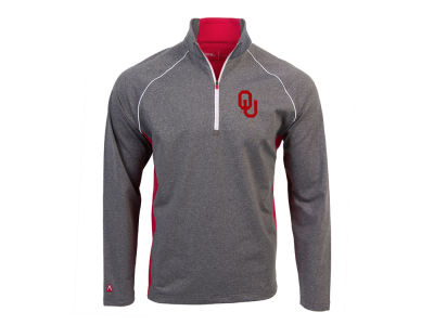 Oklahoma Sooners Antigua NCAA Men's Stamina Quarter Zip Pullover