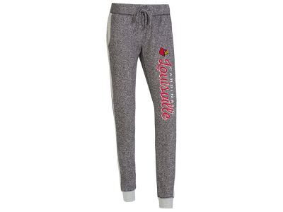 Louisville Cardinals Concept Sports NCAA Women's Cuffed French Terry Pant