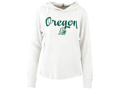 Oregon Ducks Pressbox NCAA Women's Cuddle Knit Hooded Sweatshirt