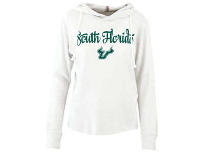 South Florida Bulls Pressbox NCAA Women's Cuddle Knit Hooded Sweatshirt