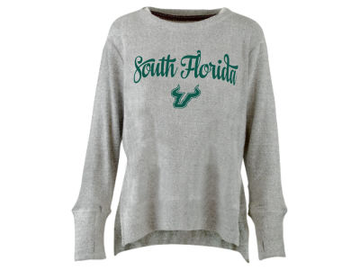 South Florida Bulls Pressbox NCAA Women's Script Cuddle Knit Sweatshirt