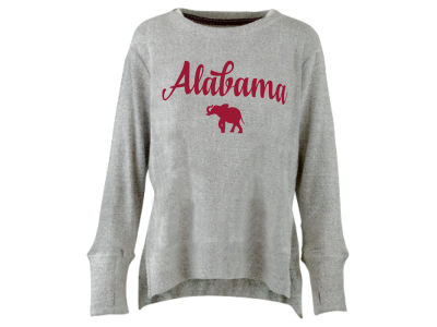 Alabama Crimson Tide Pressbox NCAA Women's Script Cuddle Knit Sweatshirt