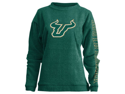 South Florida Bulls Pressbox NCAA Women's Comfy Color Terry Sweatshirt