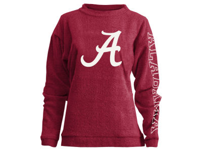 Alabama Crimson Tide Pressbox NCAA Women's Comfy Color Terry Sweatshirt