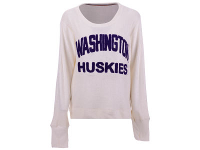 Washington Huskies Pressbox NCAA Women's Cuddle Knit Sweatshirt