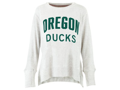 Oregon Ducks Pressbox NCAA Women's Cuddle Knit Sweatshirt