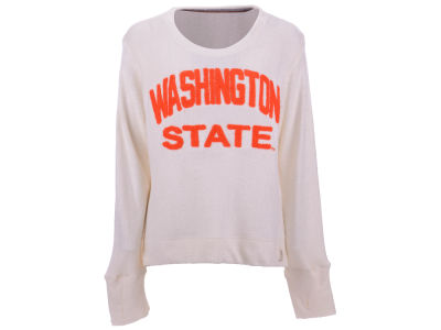 Washington State Cougars Pressbox NCAA Women's Cuddle Knit Sweatshirt