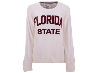 Florida State Seminoles Pressbox NCAA Women's Cuddle Knit Sweatshirt