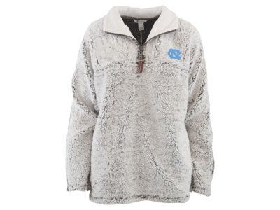 North Carolina Tar Heels Pressbox NCAA Women's Sherpa Quarter Zip Pullover