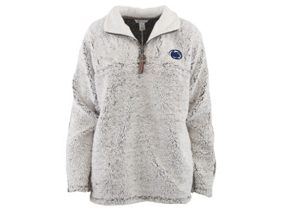 Penn State Nittany Lions Pressbox NCAA Women's Sherpa Quarter Zip Pullover
