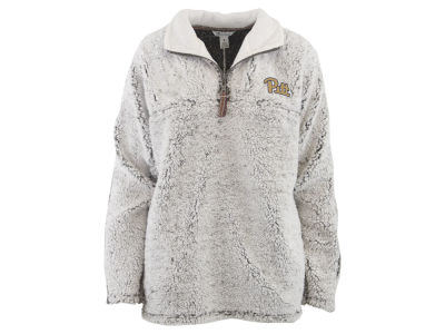 Pittsburgh Panthers Pressbox NCAA Women's Sherpa Quarter Zip Pullover