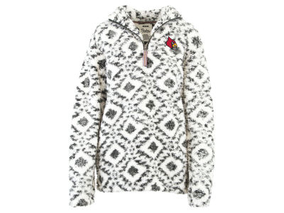 Louisville Cardinals Pressbox NCAA Women's Tribal Jacket