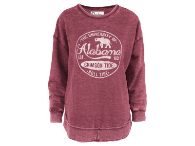 Alabama Crimson Tide Pressbox NCAA Women's Vintage Wash Sweatshirt