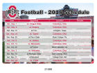 Ohio State Buckeyes 2018 Football Schedule Magnet Pins, Magnets & Keychains