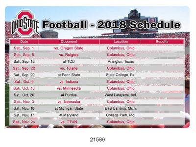 22fe60168bb 2018 Football Schedule Magnet Novelties at OhioStateBuckeyes.com