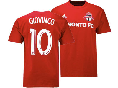 Toronto FC Sebastian Giovinco adidas MLS Men's Name and Number T-shirt