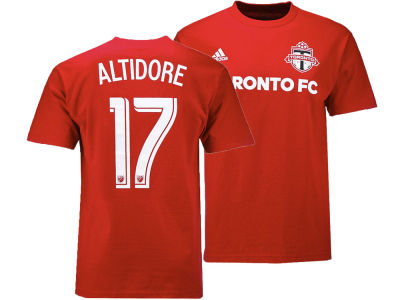 Toronto FC Jozy Altidore adidas MLS Men's Name and Number T-shirt