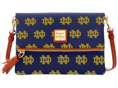 Notre Dame Fighting Irish Dooney & Bourke Foldover Crossbody Purse