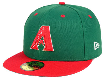 Arizona Diamondbacks New Era MLB Green Red 59FIFTY Cap