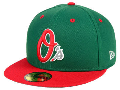 Baltimore Orioles New Era MLB Green Red 59FIFTY Cap
