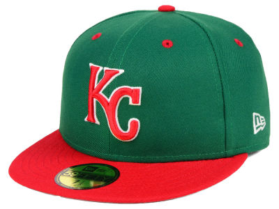 Kansas City Royals New Era MLB Green Red 59FIFTY Cap