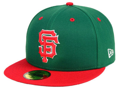 San Francisco Giants New Era MLB Green Red 59FIFTY Cap