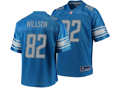 Detroit Lions Luke Willson Nike NFL Men's Game Jersey