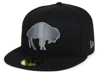 Buffalo Bills New Era NFL Black Gray Basic 59FIFTY Cap