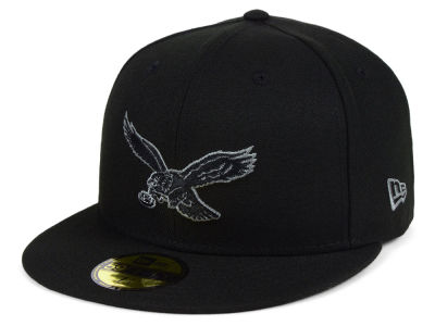 Philadelphia Eagles New Era NFL Black Gray Basic 59FIFTY Cap