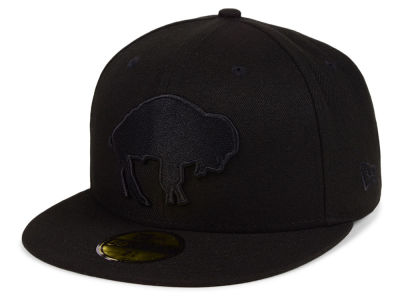 Buffalo Bills New Era NFL Black on Black 59FIFTY Cap