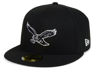 Philadelphia Eagles New Era NFL Black And White 59FIFTY Cap