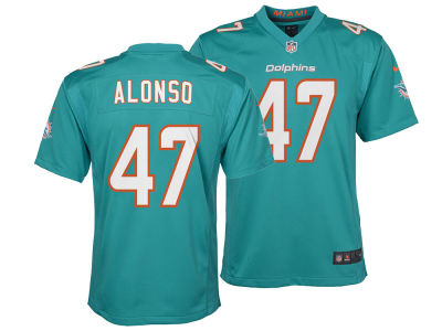 Miami Dolphins Kiko Alonso Nike NFL Youth Game Jersey