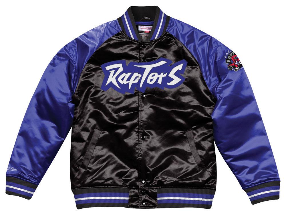 Toronto Raptors Mitchell   Ness NBA Men s Tough Season Satin Jacket ... e607ce69e