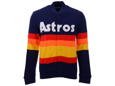Houston Astros Mitchell & Ness MLB Men's Authentic Sweater Jacket