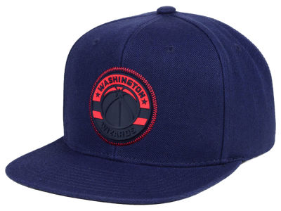 Washington Wizards Mitchell & Ness NBA Zig Zag Snapback Cap